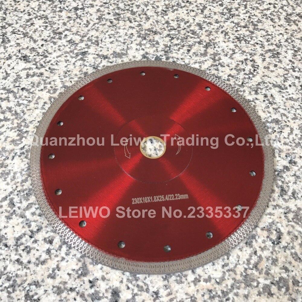 Turbo Saw Blade 9 Inch 230 Mm For Porcelain Tile Ceramic Diamond