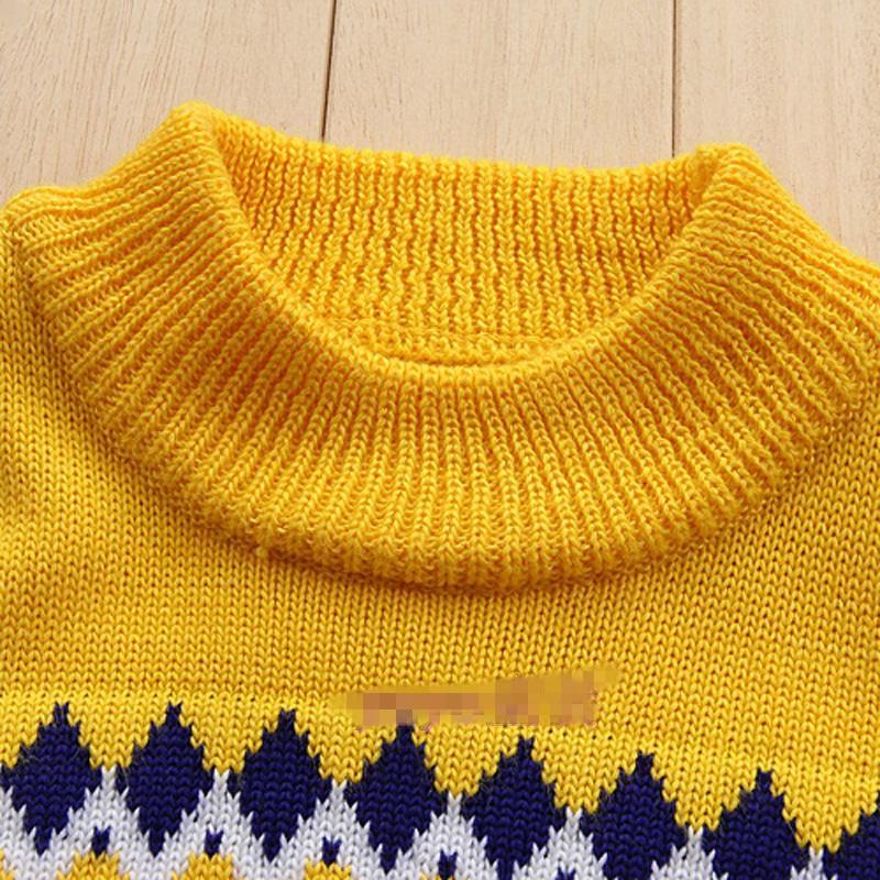 3f8e117ca Knitted Sweater for boys Autumn Winter Boy Sweater Children ...