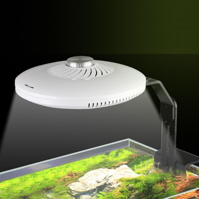 SUNSUN Aquarium herbe cylindre lampe UFO lampe aquarium lampe LED à spectre complet réglable lampe à eau 48 W
