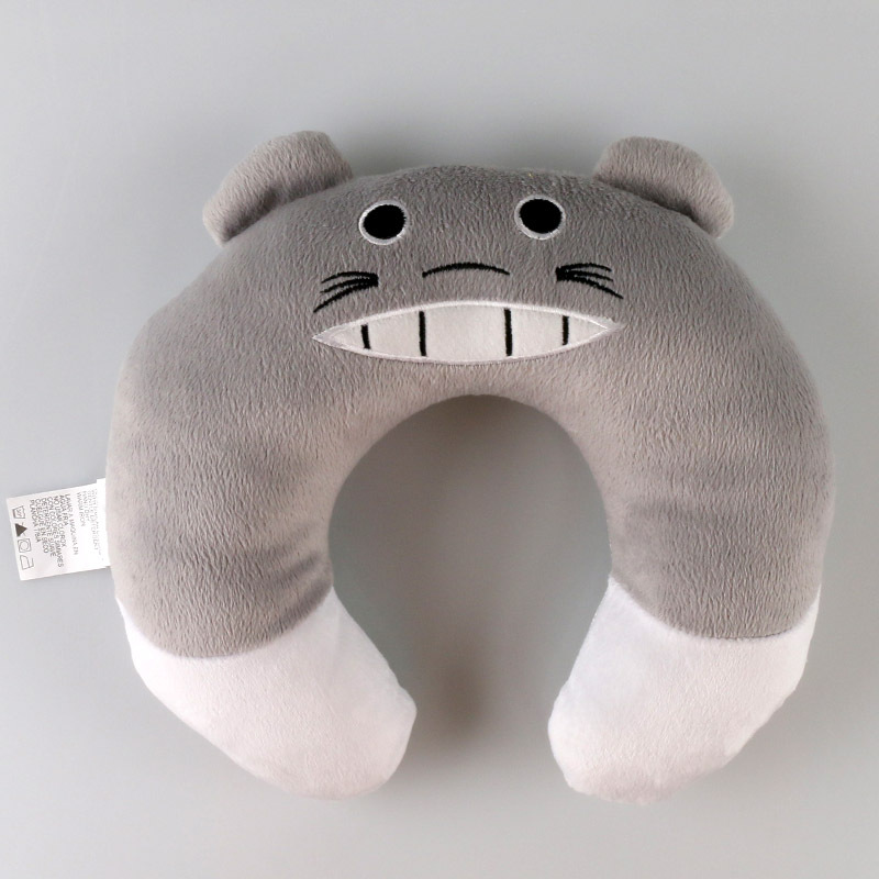 Grey baby car head neck pillow stkcar.com