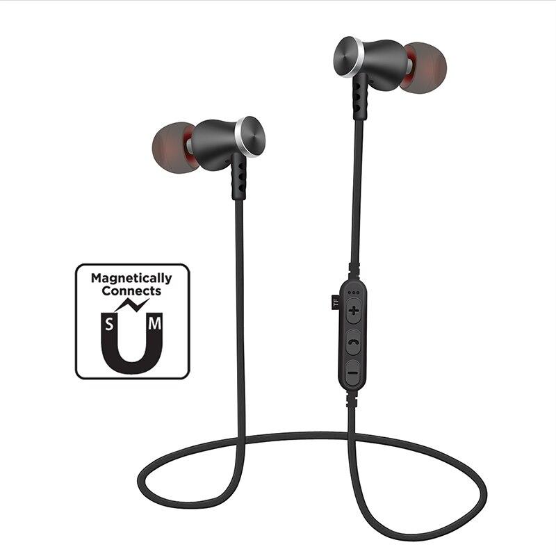 BON casque d'écoute Bluetooth T5 avec Microphone casque sans fil casque Sport Bluetooth pour iPhone Xiaomi Samsung MP3