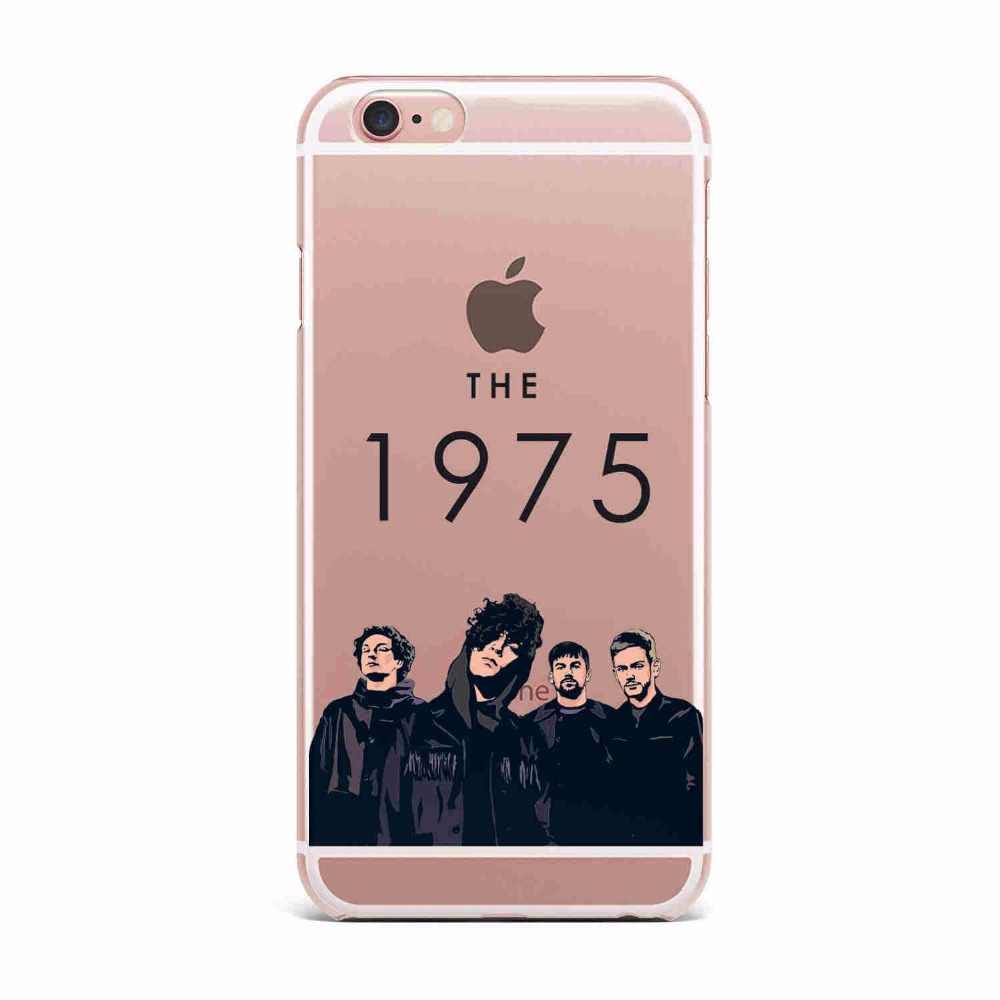 1975 Стильный Ультратонкий силиконовый чехол-накладка Matthew Healy из мягкого гелевого ТПУ для Iphone X 5 5S SE 6 6 S 7 7 Plus 8 Plus