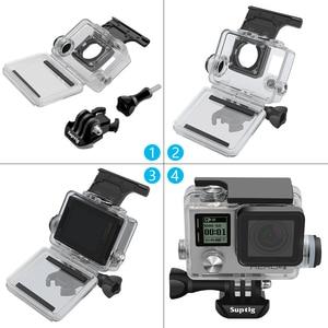 Image 3 - 移動プロヒーロー 4/3 +/3 アクションカメラアクセサリー充電防水ケースフレーム水中充電器シェル収納ボックス