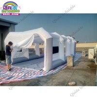 8 м x 4x3 м надувной автомобиль краска спрей стенд мобильный надувной краска палатка для автомобиля