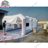 8x4x3m inflatable car paint spray booth mobile inflatable paint tent for car|Toy Tents|   -