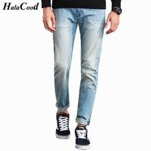 HALACOOD Marke Männer Plus Große Größe Hosen 38 40 42 44 46 48 50 52 Mens High Stretch Groß und Hoch Große Hosen Jeans Baumwolle für männer