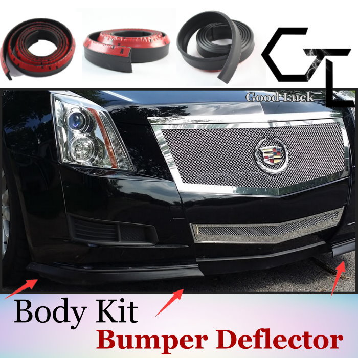 Automobile Refitting Accessories / Rubber Skirts / Truck Chassis / Fashion Style For Cadillac / High Quality / Bumper Lip