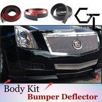Samochodowe akcesoria do montażu/gumowe spódnice/podwozie samochodu ciężarowego/modny styl dla Cadillac/wysoka jakość/zderzak wargi|Spoilery i skrzydła|Samochody i motocykle -