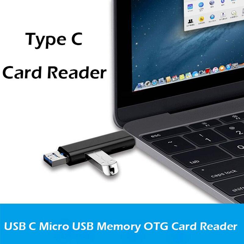 Image 4 - Все в 1 Usb 3,1 кард ридер высокоскоростной SD TF Micro SD кард ридер Тип C USB C Micro USB память OTG кард ридер-in Считыватели карт памяти from Компьютер и офис