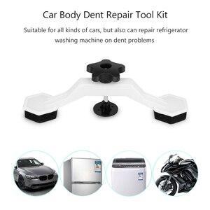 Image 4 - Corpo do carro auto dent pit repair tool kit removedor ponte cola extrator levantador com 5pcs guias de cola painel paintless mini pequenas ferramentas