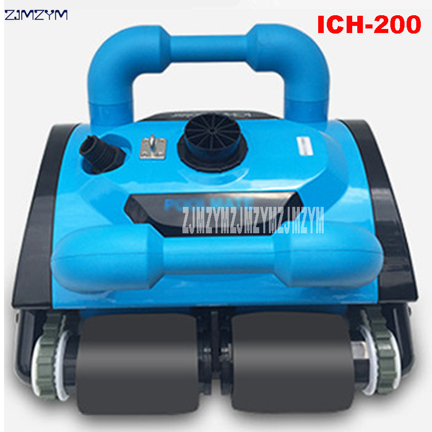 US $3323.4 13% OFF|Newest Fully Automatic Underwater Vacuum Swimming Pool  Robot Vacuum Cleaner Robot Cleaning Equipment 110V/220V ICH 200-in Vacuum  ...