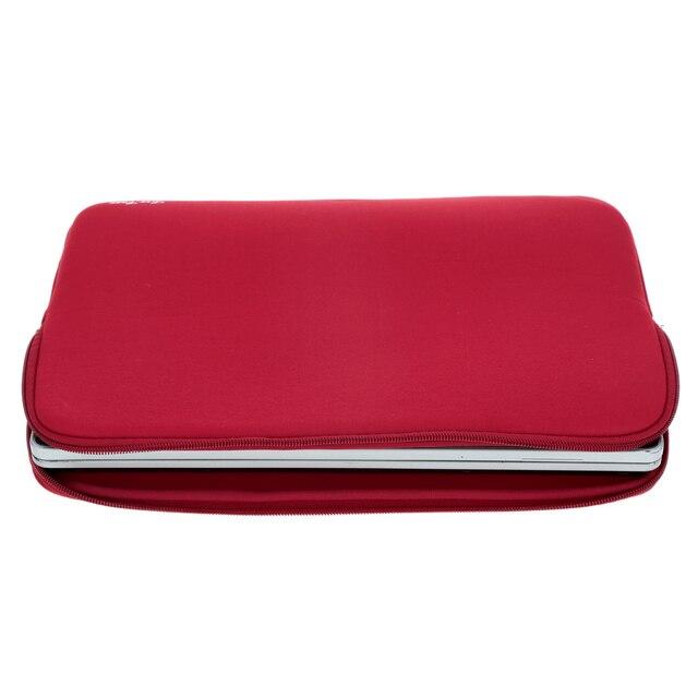 "Hot Sale Laptop Bag Case 11"" 13"" 14"" 15"" inch Portable Zipper Soft Sleeve laptop bags for macbook air 13 case pro notebook bag"