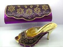 (MF095)จัดส่งฟรีโดยDHL,แอฟริกันรองเท้าและกระเป๋าจับคู่ผู้หญิงอิตาลีรองเท้าและกระเป๋าให้ตรงกับชุดด้วยหิน
