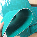 new Cutting Mat A1 Pvc Rectangle Self Healing White core Desktop Protection Mat Craft Dark Green 90cm * 60cm*0.3cm