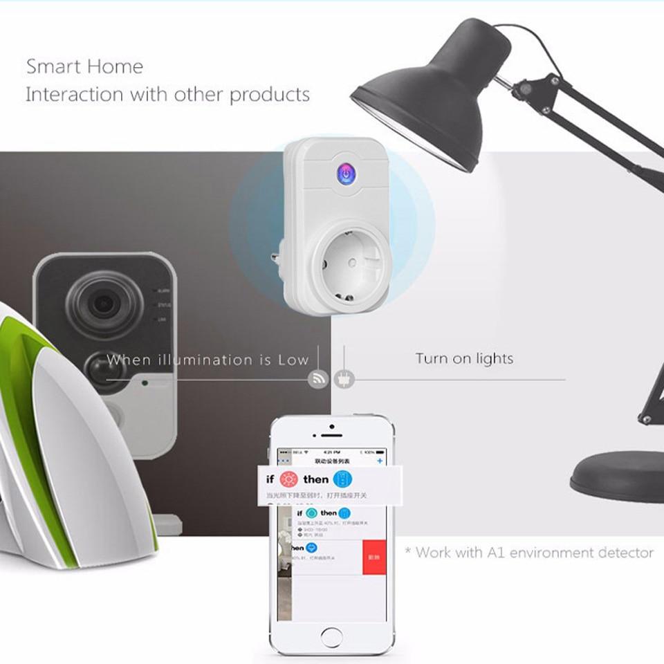NTONPOWER Wifi Smart Power Socket EU Plug  (22)