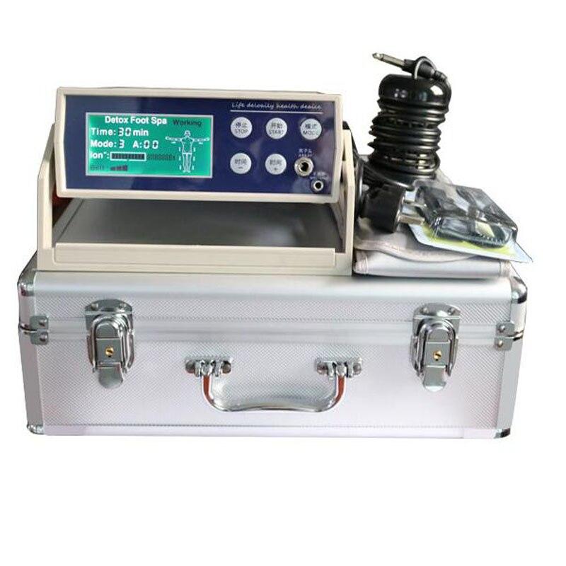 Assistenza sanitaria macchina ione pulisce, ion ionico del piede del detox spa macchina con cintura lontano infrarosso disintossicazione del piede spa macchina