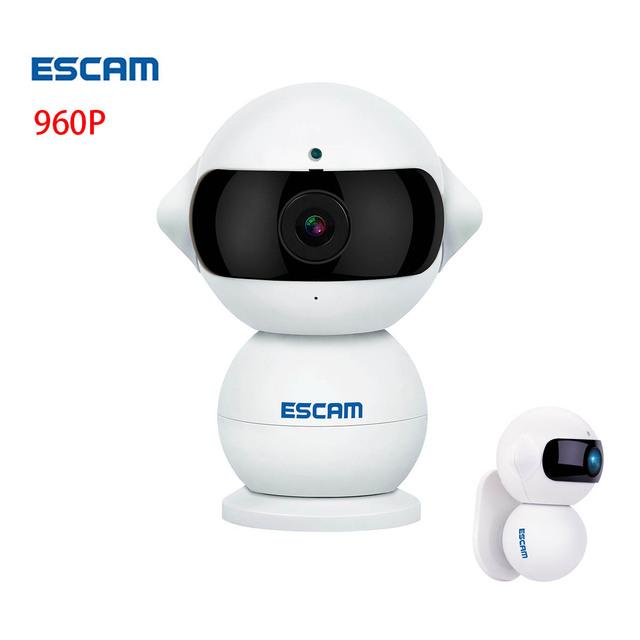 ESCAM QF200 HD 960 P Câmera De Segurança de Rede IP Sem Fio Wi-fi Cam Mini Câmera CCTV Home indoor Câmeras IR WI-FI ipcam