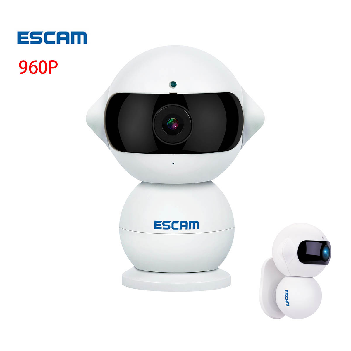 escam qf200 hd 960p ip security camera network wifi cam. Black Bedroom Furniture Sets. Home Design Ideas