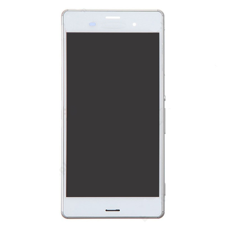 LCD Display + Touch Panel with Frame for Sony Xperia Z3 (Dual SIM Version) / D6633 / L55U