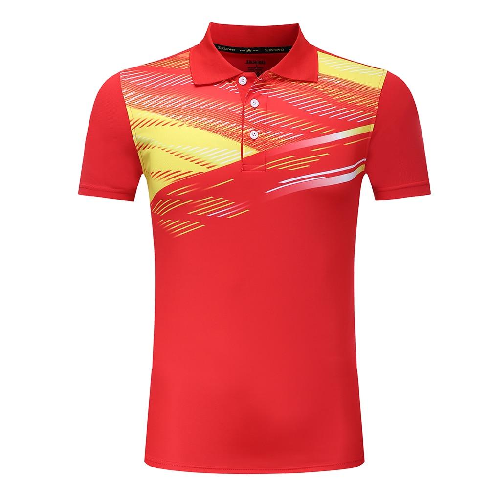 Child-Women-Men Tennis Shirts , Quick dry Badminton Shirts , Table Tennis shirt , Ping Pong Jersey , sports polo shirts XS-4XL