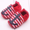 Nuevo Estilo Recién Nacido BabyShoes Zapatos Infantiles CribShoes Infant Toddler Primeros Caminante Niños Zapatos Infantiles Del Niño Recién Nacido de la Historieta YL245