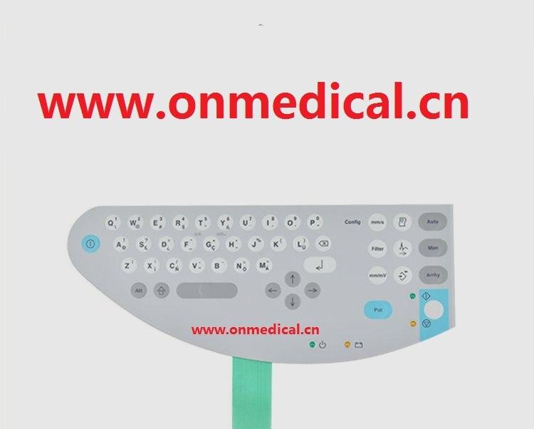 botao membrana teclado apropriado para a ge marquette 1200st