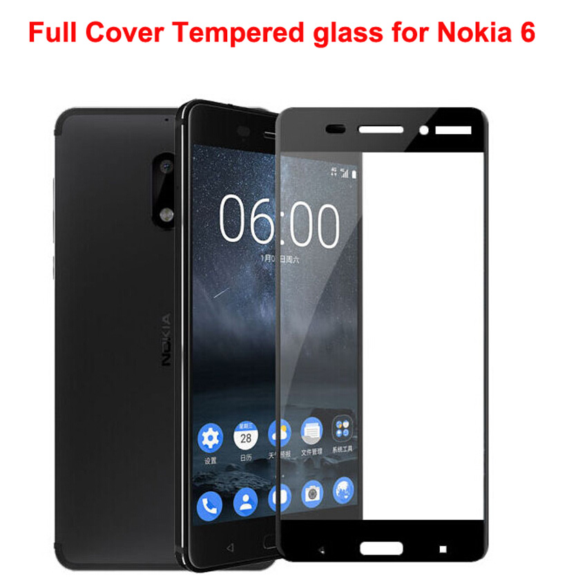 Shockproof Tempered Glass For Nokia 2 3 <font><b>5</b></font> 6 7 <font><b>8</b></font> <font><b>9</b></font> Screen Protector For Nokia 2.2 3.2 4.2 <font><b>8</b></font> 6 Premium Screen Protector Film Glass image