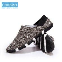 CHILEMEI New Korea Comfortable Men Shoes Fashion Summer Footwear Breatheable Student Casual Shoes
