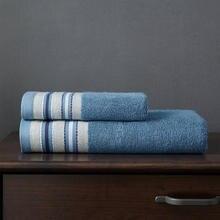 J pinno Полотенца комплект 2 шт. бамбуковое волокно синий коричневый ванны ручной Полотенца взрослых медицины мыть Полотенца супер мягкий высокими абсорбирующими антибактериальные