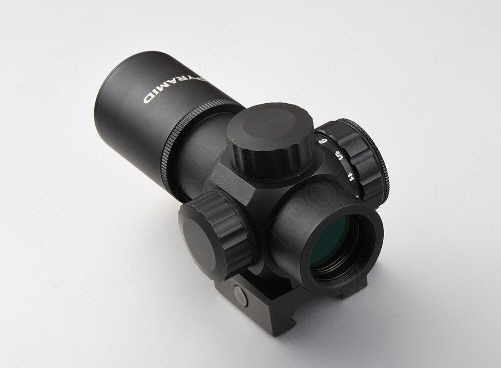 PRD Optics 1x Red Dot Sight Scope Circle Point With 20mm Picatinny Rail Mount Fir Shotguns Rifle R3195