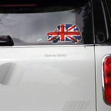 Автомобиль Стайлинг Классическая наклейка Ретро Мини украшения наклейки для Mini Cooper Clubman Roadster Countryman Paceman купе JCW