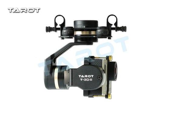 Tarot GOPRO 3D métal 3 axes sans balai cardan TL3T01 pour Gopro 4/3 +/3 Tarot 3D cardan livraison gratuite avec suivi
