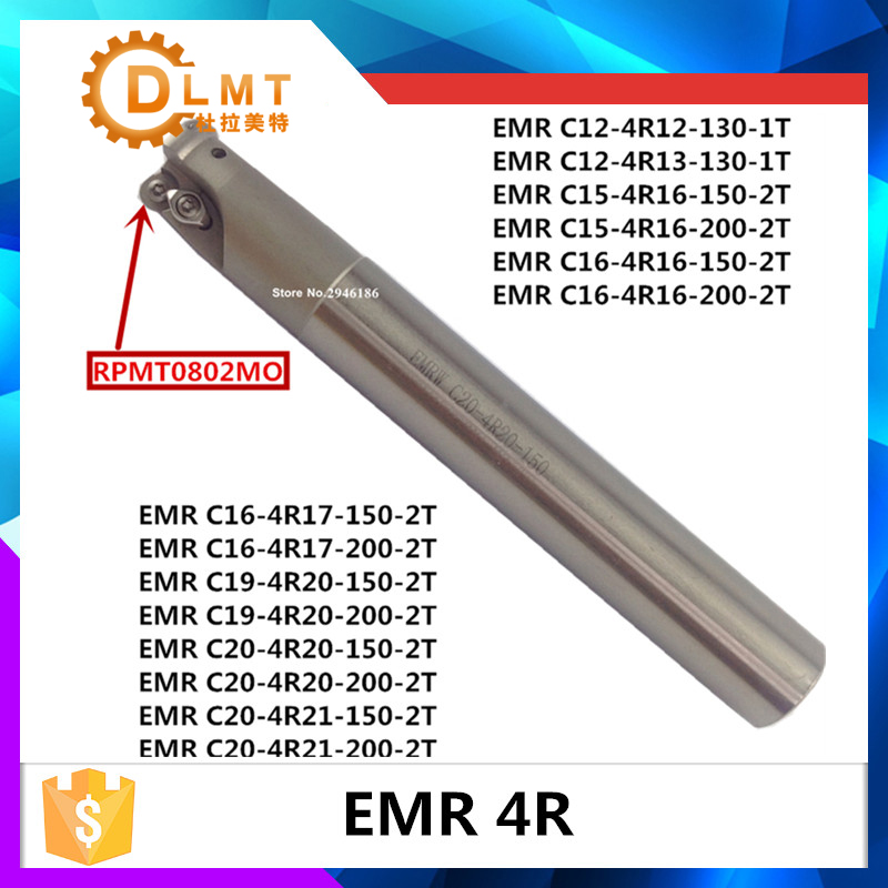 EMR C10 4R10 120 EMR C16 4R16 150 2T EMR C20 4R20 160 Indexable Shoulder End Mill Arbor Cutting Tools, Milling Cutter Holder free shiping tju aju c16 16 120 dia 16mm insertable bore drilling end mill cutting tools for 1pcs cpmt080204 1pcs ccmt060204