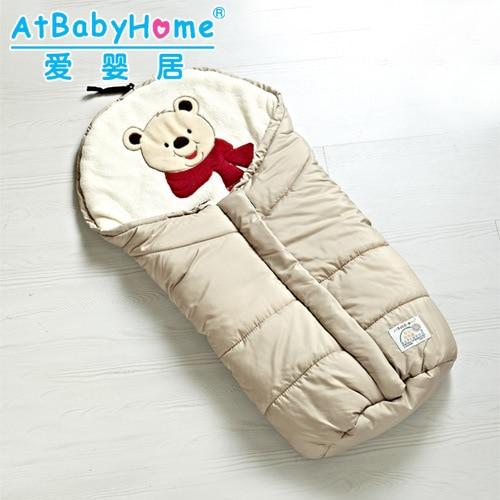 baby sleeping bag winter Solid baby sleep sack Unisex envelopes for newborns baby sleeping bag