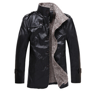 Мужские кожаные куртки из Китая