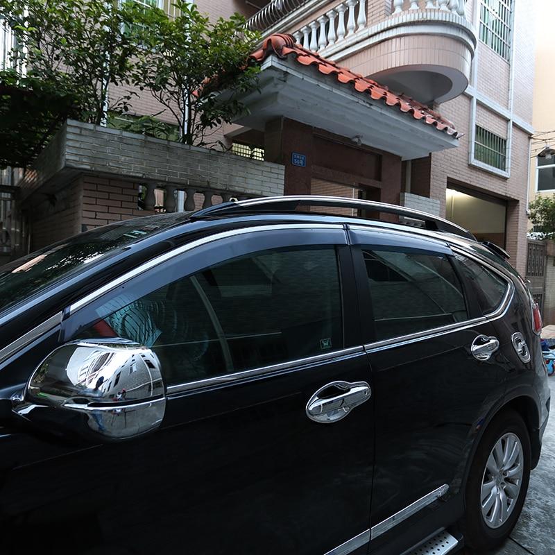 For Honda CRV CR-V 2012 2013 2014 2015 2016 ABS Plastic Window Visors Awnings Wind Rain Sun Deflector Visor Guard Vent Covers