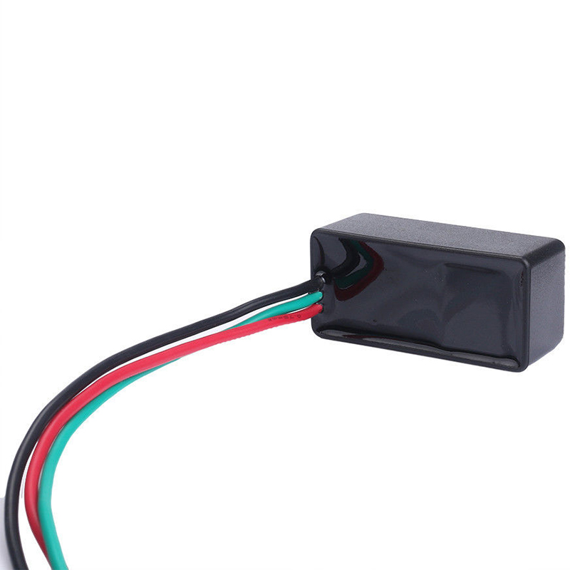 Mayitr 3Pin DC 12V Universal Motorcycle LED Turn Signal Light Blinker Flasher Relay for Car Motorcycle Halogen LED Lamp