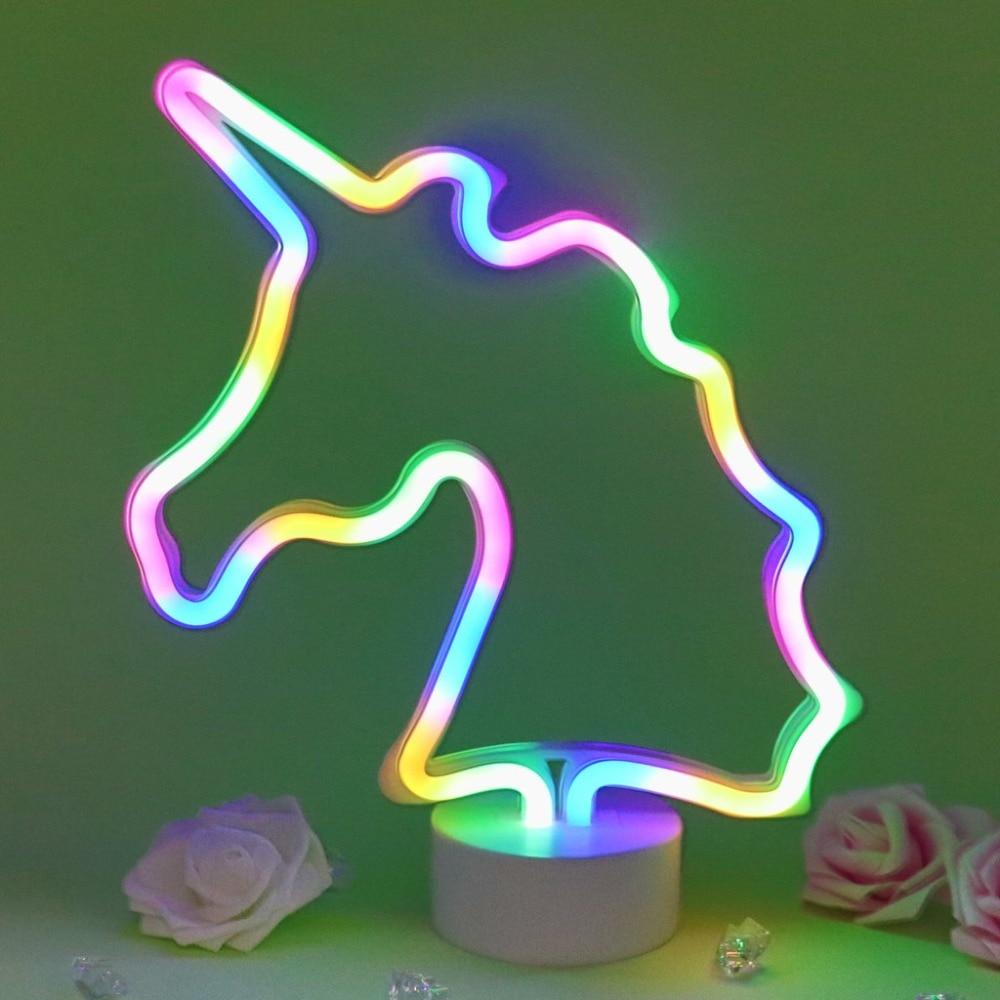 Lights & Lighting Tonger Neon Sign Led Rainbow Light Lamp For Dorm Decor Rainbow Decor Neon Lamp Wall Decor Christmas Neon Bulb Tube
