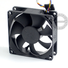8025 PVA080G12H P01 12V 0 6A 4Wire For 775 CPU Cooler Fan font b Server b