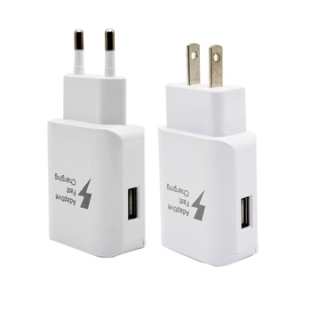 EUUS Plug USB Charger Universal Mobile Phone Wall Charger Travel America QC 3.0 Fast Charging USA USB Adapter Cables Charge mobile phone