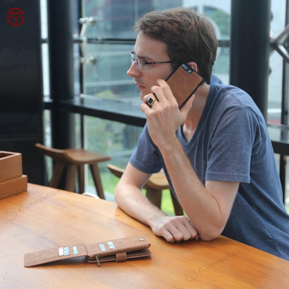 Telefonväska för äkta läderfodral för iPhone X 8 7 6 6s Plus 5s - Reservdelar och tillbehör för mobiltelefoner - Foto 5