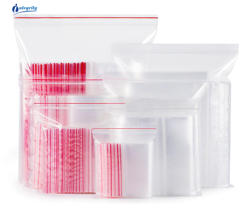 INTEGRITY 5000pcs lot 10 15cm transparent travel bags Gifts Cookie Clutter packing plastic ziplock clear self seal receive pouch in Home Office Storage from Home Garden