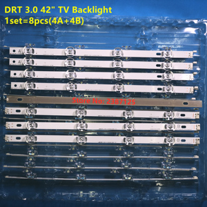 Image 3 - 100% Original New LED backlight strip bar for LG LC420DUE 42LB3910 INNOTEK DRT 3.0 42 inch A B 6916L 1709A 6916L 1710A 42LF550V