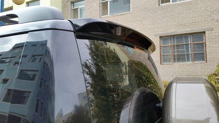 Osmrk unpainted ABS tail wing roof visor rear spoiler lip for skoda yeti