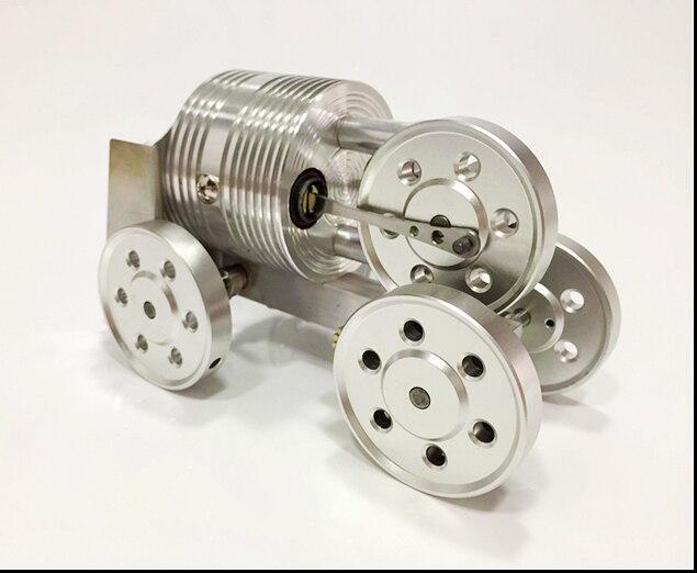 Mini Modello Di Micro-generatore Di Motore A Combustione Esterna Trolley Motore Stirling Regalo Del Bambino Giocattolo Educativo Delizioso Nel Gusto