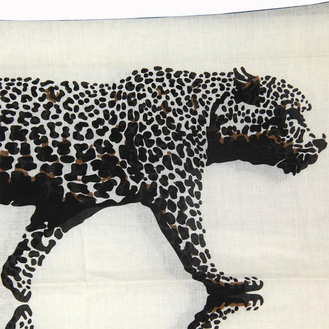 BW Leopard Walking Scarf | Lightweight Scarves