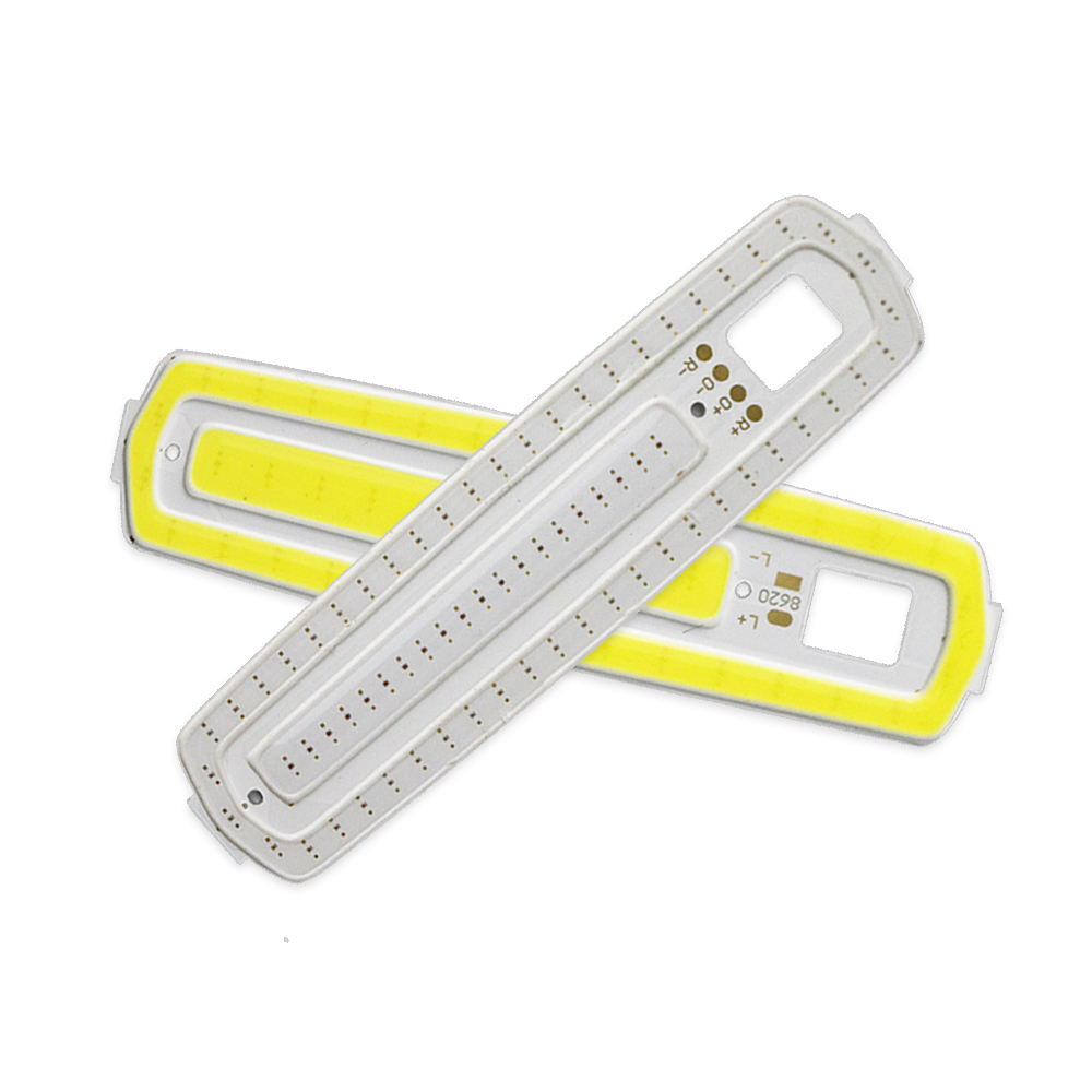 LED COB Bar Light DC 3V Led Lamp For DIY Bed Bicycle Lightbulb 2W 3W Cold White Red Yellow Light Chip 87mm JQ