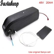 Новый arriver 8fun 48 В 750 Вт 1000 Вт eBike Хайлун аккумулятор с USB и переключатель Sanyo клетки Электрический велосипед 48 В 20Ah литий-ионный аккумулятор