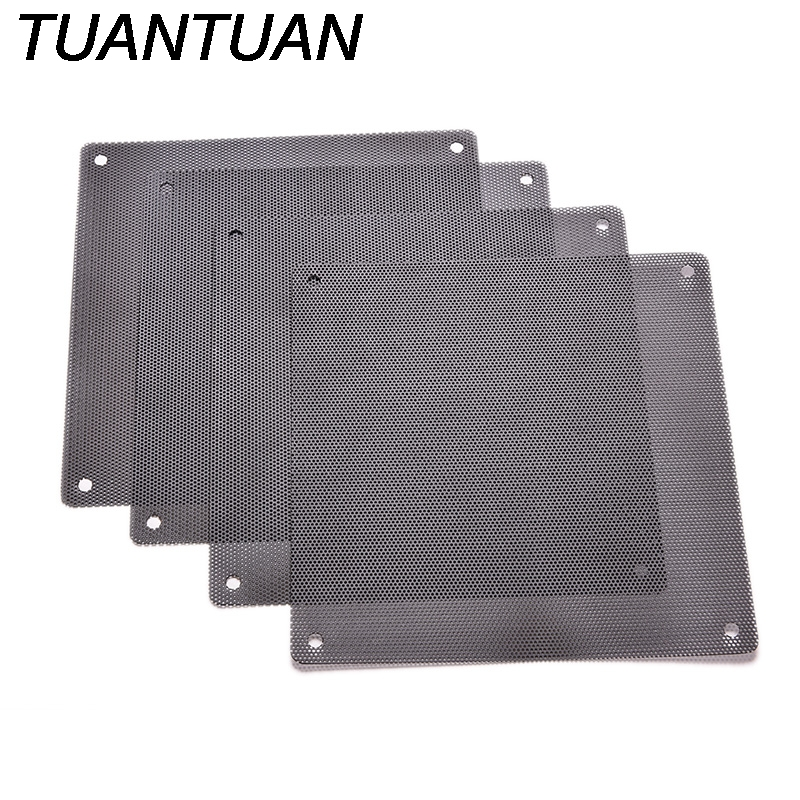 1PC Cuttable Mesh Fits Standard 120mm Fans With 4 Screws Computer PC Dustproof Cooler Fan Case Cover Dust Filter