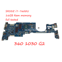 OLDMAN 6050A2848001 MB A01 920054 601 материнской платы ноутбука для hp EliteBook x360 1030 G2 13,3 SR33Z i7 7600U 16 ГБ GMA HD 620 работа